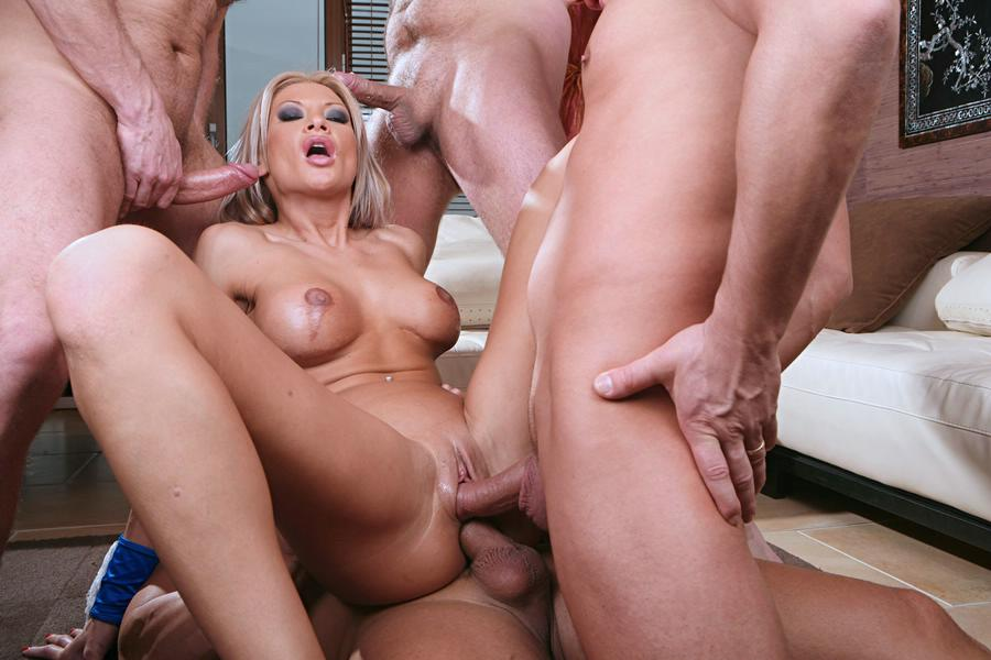 Blonde cock hard riding